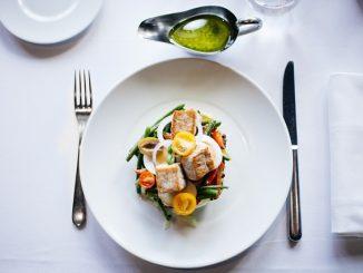 menu gastronomique dans les restos français