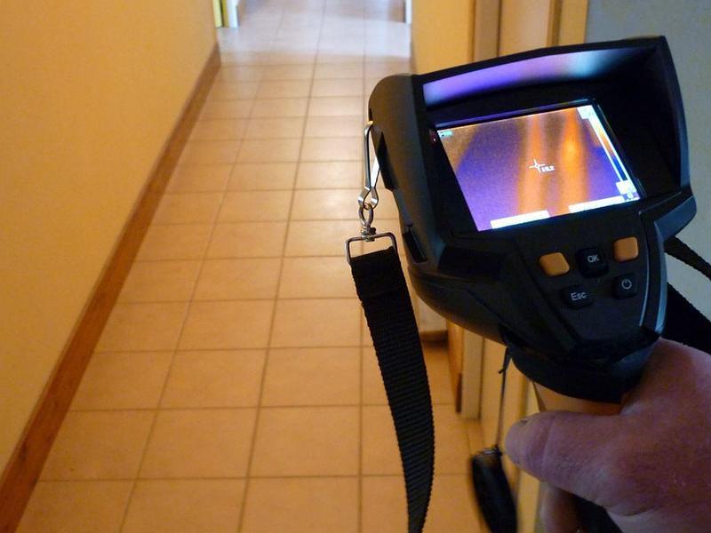 Recherche de fuite par Thermographie infrarouge