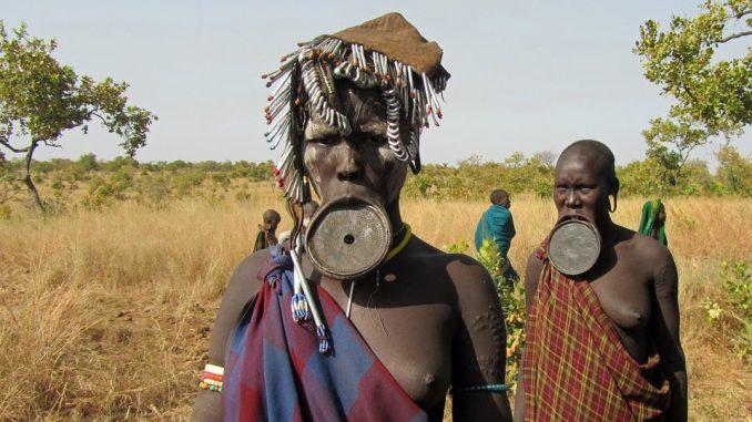 mursi-Éthiopie